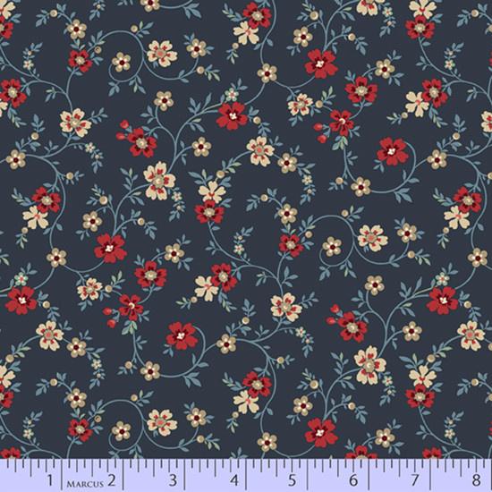 marcus fabrics Blue Meadow - 83110