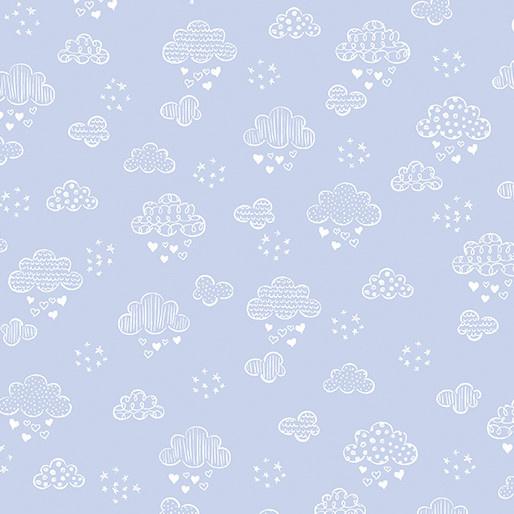 Dreamy Clouds Soft Blue (8305)