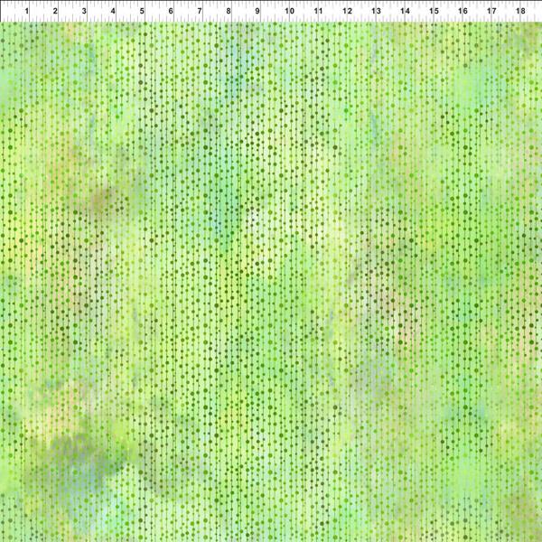 Benartex Beads  Spring Green - 6JYL3