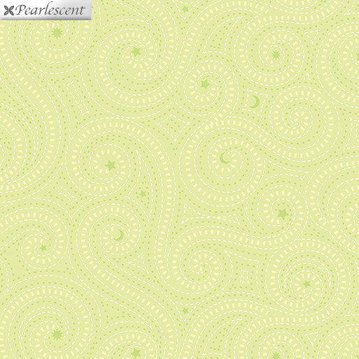 Contempo Dashed Lines Lime - 1831P42