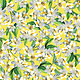Kanvas Blossoms Lemon Yellow - 783703