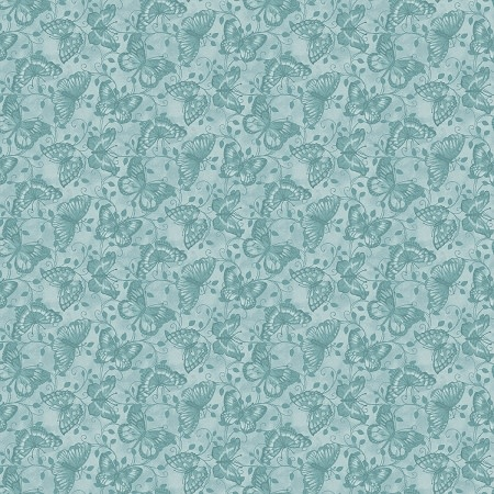 Contempo Butterfly Tonal Blue - 768250