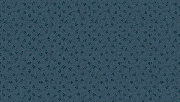 Makower Doty Vine Blue - 9016B