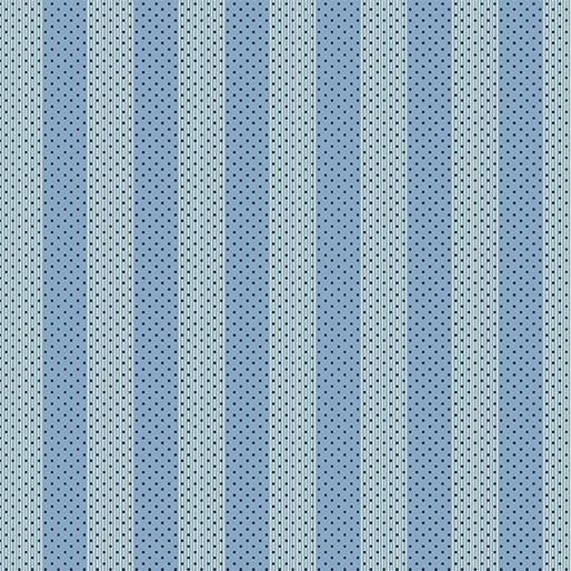 Benartex Bonnie Lane Stripe Blue - 670550