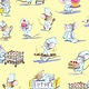 Timeless Treasures Cute Mice Chefs - C7374