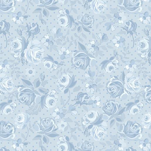 Benartex Bonnie Lane Blue Ribbon - 671005