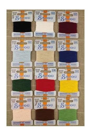 Sajou assortment of 12 essential Sajou colors
