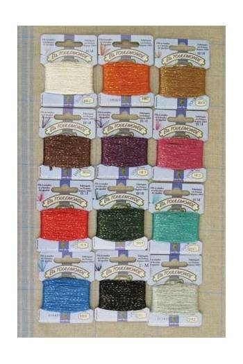 Sajou clasic 12 tone tonkin embroidery thread assortment