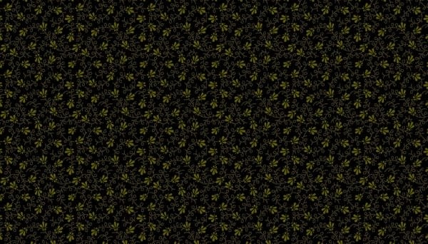 Makower Dotty Vine Black - 9016K
