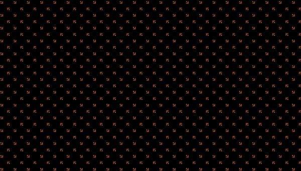 Makower Corners Black - 9013K