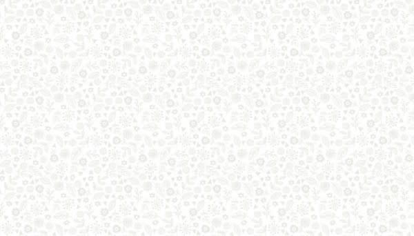 Makower Doodle Ditzy White - 1911W1