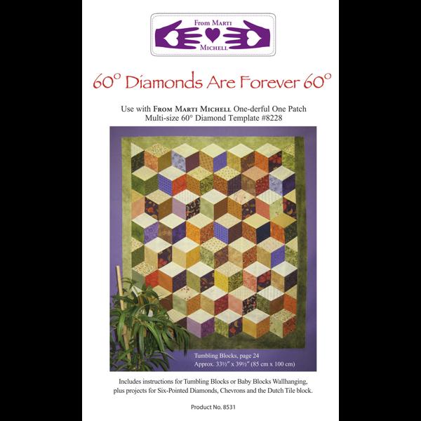 Marti Michell 60-Degree Diamonds are Forever