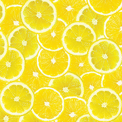 Kanvas Citris Slices Lemon Yellow - 783930