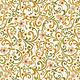 Benartex Bonnie Lane  Afternoon Tea Mustard - 670442