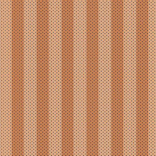 Benartex Bonnie Lane Awning Stripe Coral - 670502
