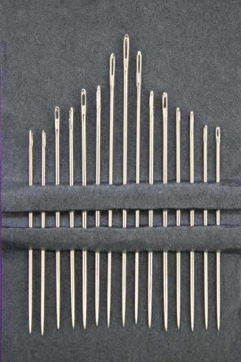"Sajou 15 Sewing Needles Assorted  ""fil au chinois"""