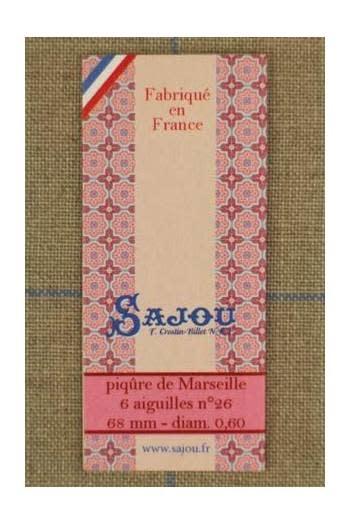 Sajou 6 Boutis Naalden N26 - Sajou