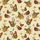 Benartex Chicks and Cups Cream - 311107