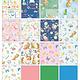 """Benartex Bunnies & Blossoms 10""""x10"""" Pack"""