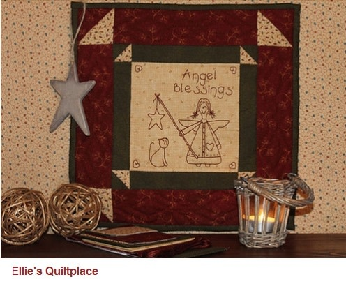 Ellie's Quiltplace Angels Blessings - Patroon EQP