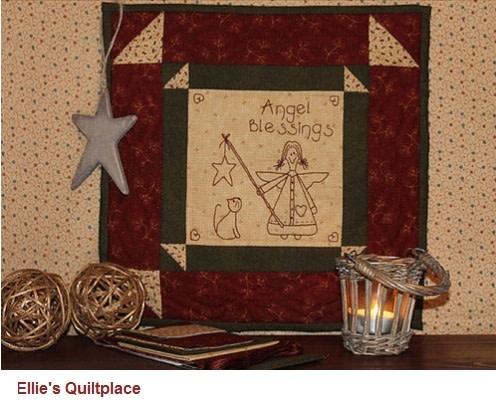 Ellie's Quiltplace Angels Blessings - Pattern EQP