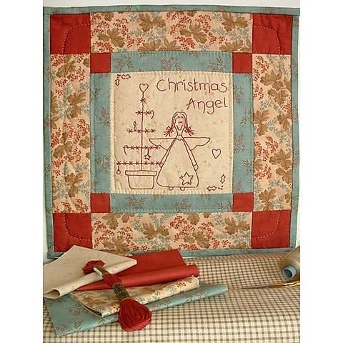 Ellie's Quiltplace Christmas Angel - Patroon EQP