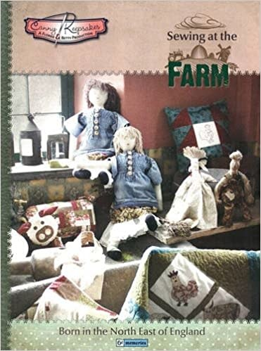 Book Sewing at the Farm