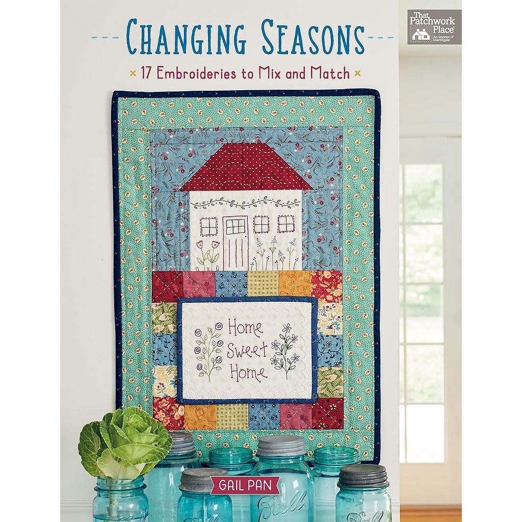 Martingale Changing Seasons - Embroideries to Mix and Match