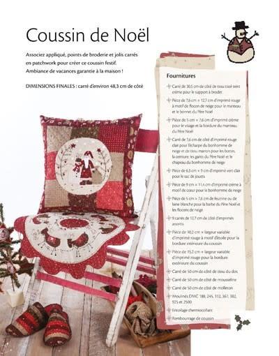 Broderie Festive Pour Noël