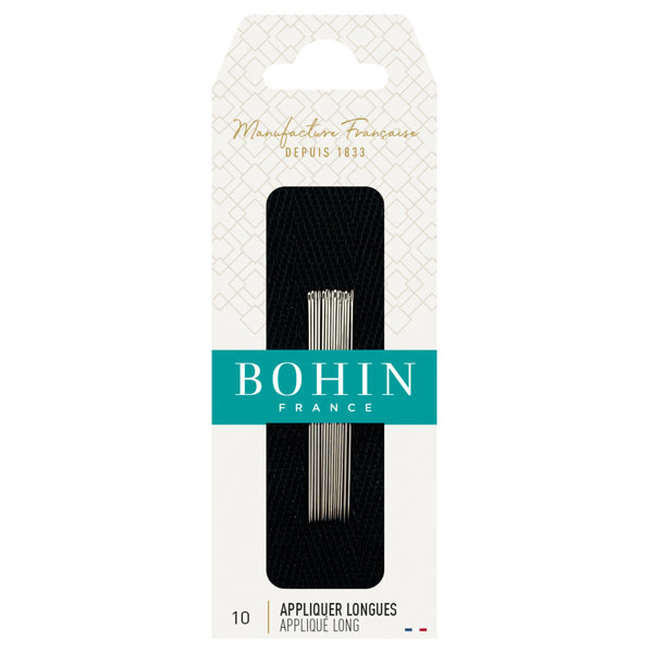 Bohin APPLIQUÉ LONG NEEDLES Nr 10  - Bohin