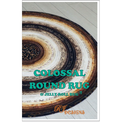 Colossal Jelly Roll Rug  Pattern