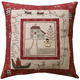 Lynette Anderson Designs Christmas Eve Pillow - Patroon