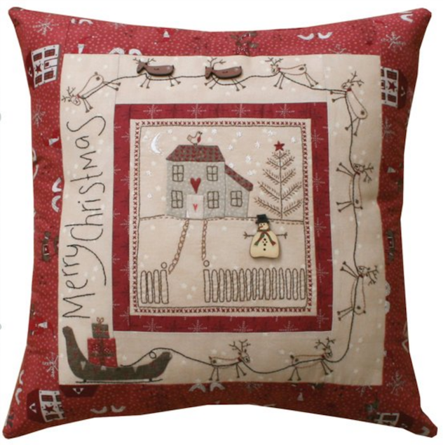 Lynette Anderson Designs Christmas Eve Pillow - Pattern