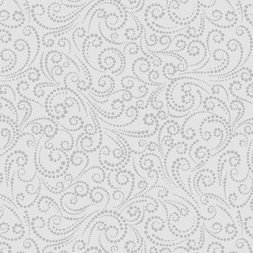 Benartex Dotted Scroll Cloud - 687508