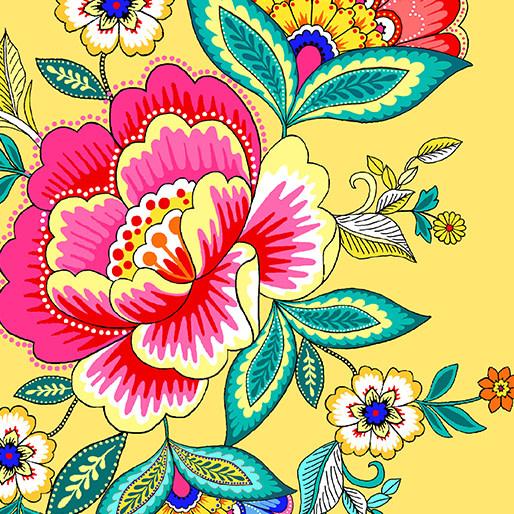 Kanvas Dazzling Bouquets Yellow - 982033