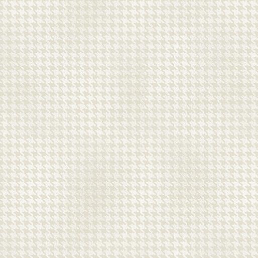 Benartex Blushed Houndstooth Ivory - 756473