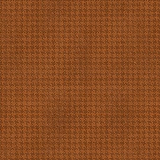 Benartex Blushed Houndstooth Cinnamon - 756487