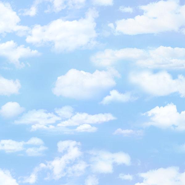 Kanvas CLOUDY SKY LIGHTBLUE - 369LIGHTBLUE