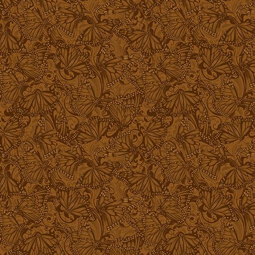 Benartex Butterfly Fields Spice - 1021789