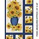 Benartex Accent on Sunflower Panel - 1021155