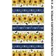 Benartex Accent on Sunflower Stripe - 1021255