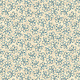 Benartex Color Traditions Grace Cream/Denim - 546355