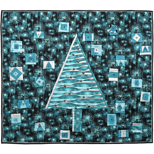 Advent Calendar Blue - Kit