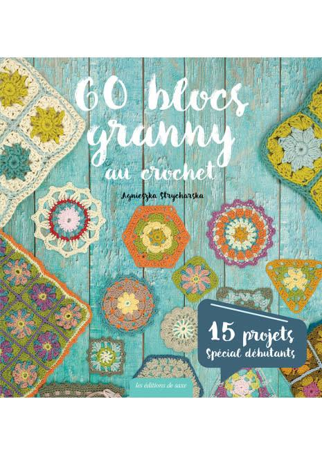 60 BLOCS GRANNY AU CROCHET