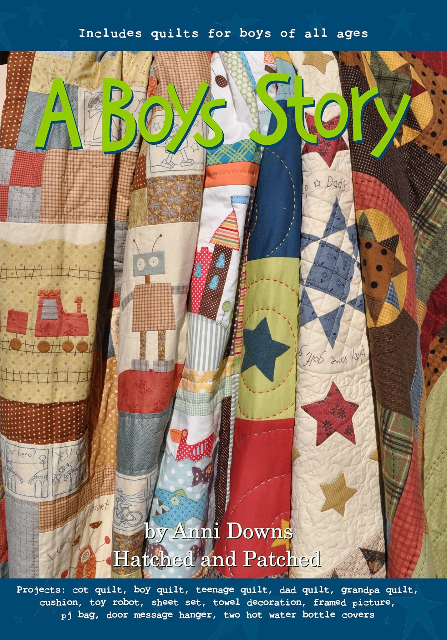 Hatched And Patched A Boys Story by Anni Downs