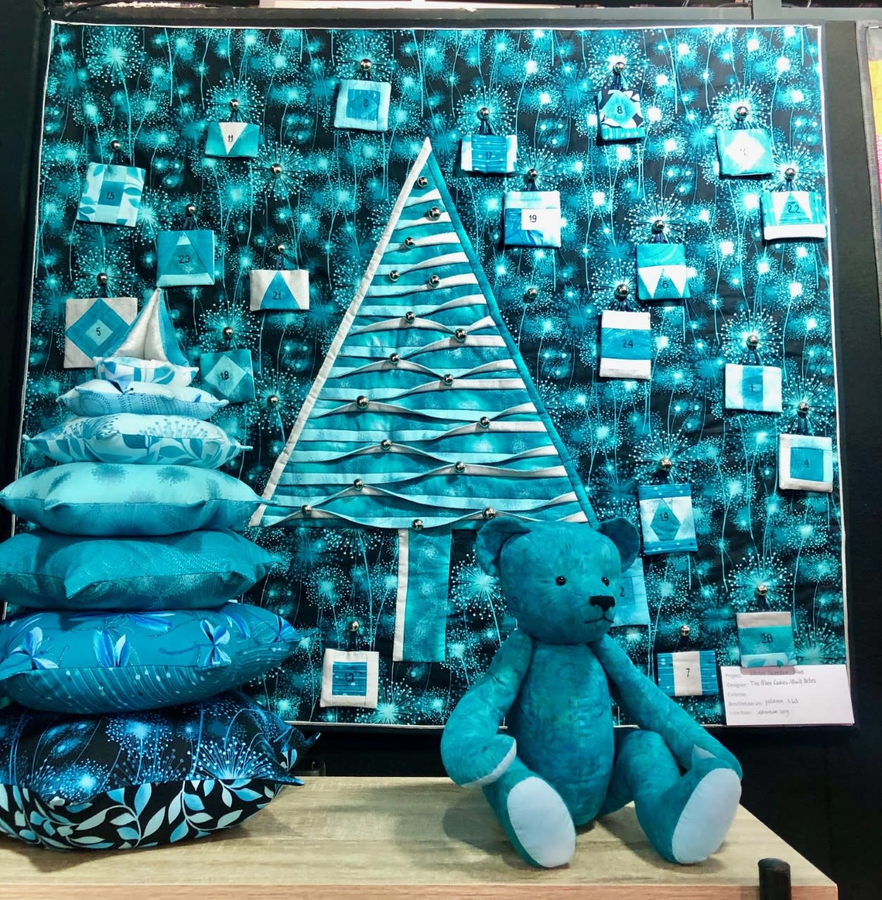 Advent Calendar Blue -  Complete Kit