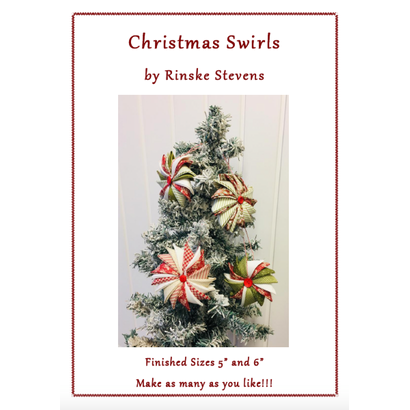 Christmas Swirls Patroon