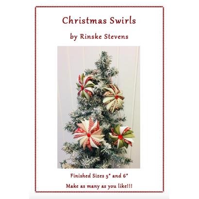 Christmas Swirls Pattern