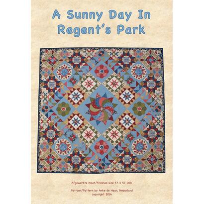 RinskeStevens A Sunny Day In Regent's Park -  Anke de Haan - Patroon