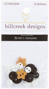 Berties Autumn - Button Set